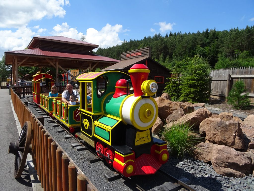 The little train for great adventurers