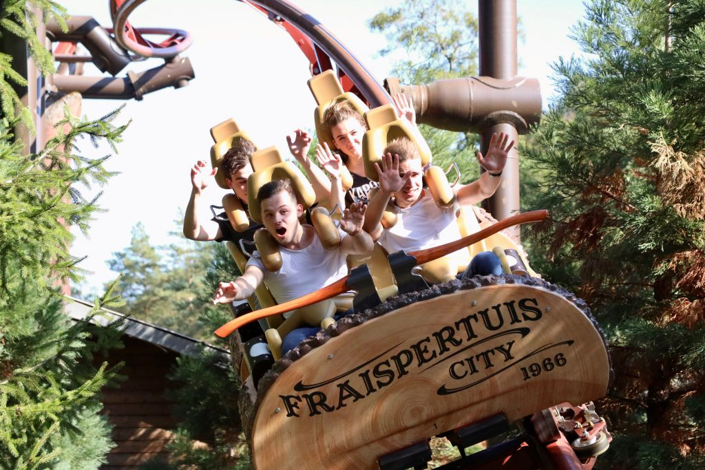 The stunning roller coasters of Fraispertuis City