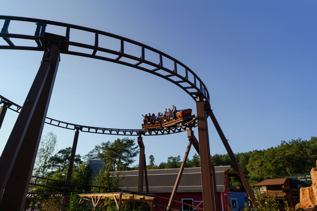 The roller coaster for the whole family