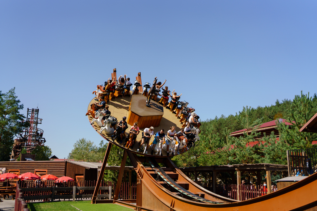 The favorite attraction of riders!